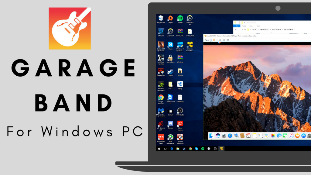 Garageband for PC & Windows 10 (Free Download) 2019